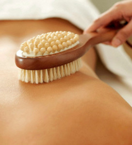 Dry Skin Brushing for Cellulite