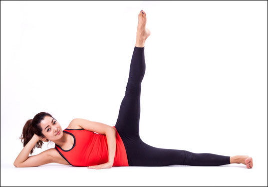 Pilates Side Kick Series